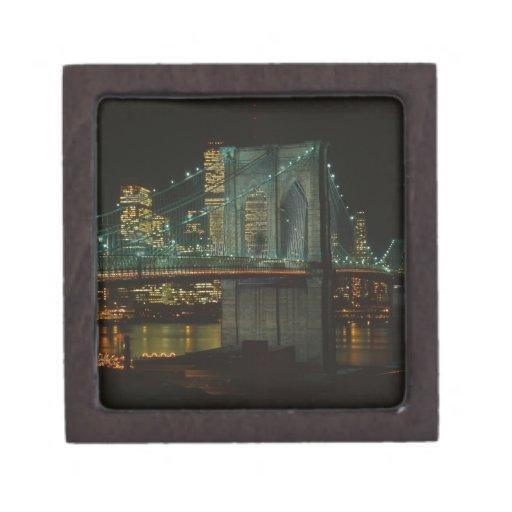 Puente de Brooklyn 1982 Caja De Joyas De Calidad
