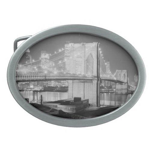 Puente de Brooklyn, 1982 Hebillas De Cinturon