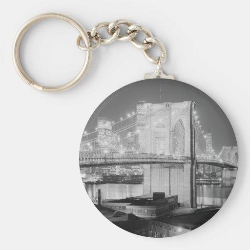 Puente de Brooklyn, 1982 Llavero Personalizado