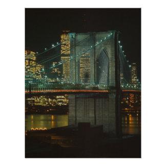 Puente de Brooklyn 1982 Membrete
