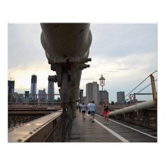 """Puente de Brooklyn 20"""""""" impresión de la foto x16"""