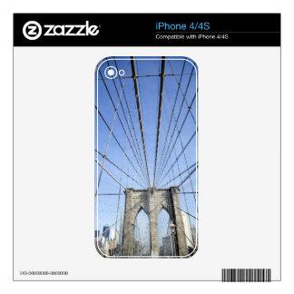Puente de Brooklyn 2 Calcomanía Para iPhone 4S
