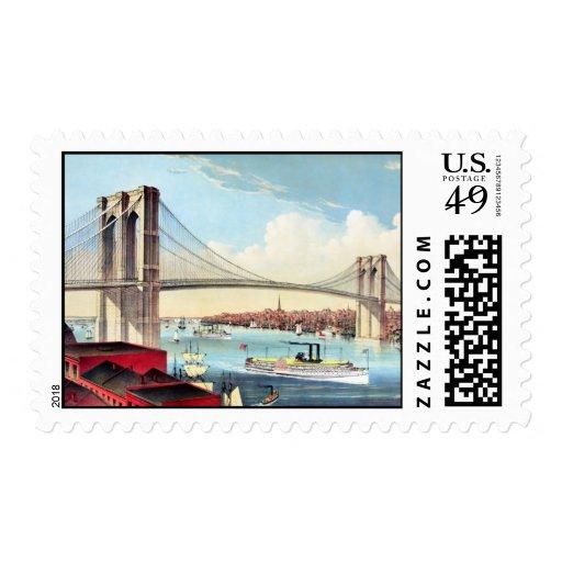 Puente de Brooklyn 2 Sellos