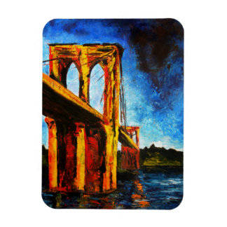 Puente de Brooklyn a Utopía 2009 Imanes Flexibles