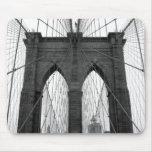 Puente de Brooklyn Alfombrilla De Ratones
