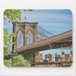 Puente de Brooklyn Alfombrillas De Raton