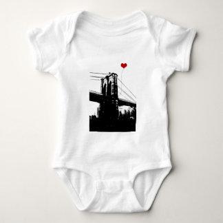 Puente de Brooklyn Body Para Bebé