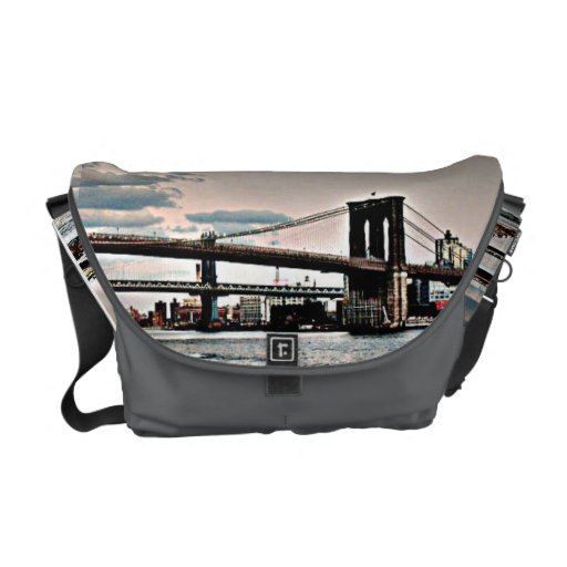 Puente de Brooklyn Bolsa Messenger