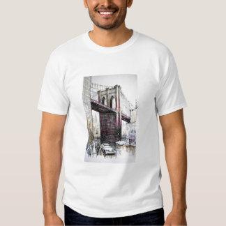 Puente de Brooklyn, camiseta del adulto de los Playera