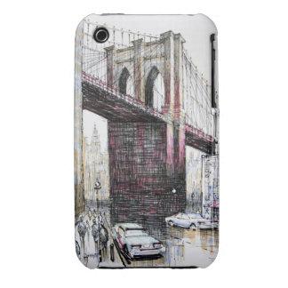 Puente de Brooklyn, casamata del iPhone 3G/3GS de iPhone 3 Funda