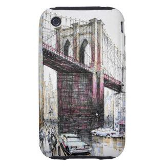 Puente de Brooklyn, casamata del iPhone 3G/3GS de iPhone 3 Tough Coberturas