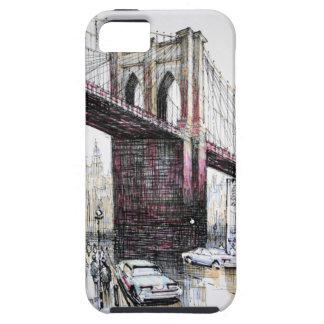 Puente de Brooklyn, casamata del iPhone 5 de los Funda Para iPhone 5 Tough