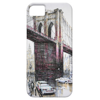 Puente de Brooklyn, casamata del iPhone 5 de los iPhone 5 Carcasas