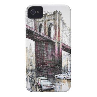 Puente de Brooklyn, caso intrépido de los E.E.U.U. iPhone 4 Coberturas