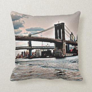 Puente de Brooklyn Cojín