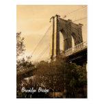 Puente de Brooklyn de Brooklyn Tarjetas Postales