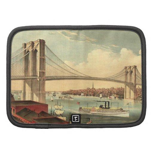 Puente de Brooklyn de la CAMISETA Organizadores