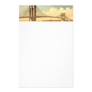 Puente de Brooklyn de la CAMISETA Papeleria De Diseño