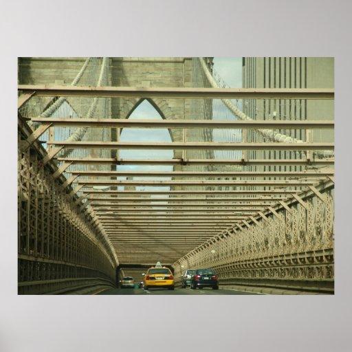"""""""Puente de Brooklyn de la travesía """" Impresiones"""