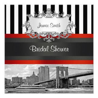 Puente de Brooklyn del horizonte de NYC, ducha nup Anuncios Personalizados