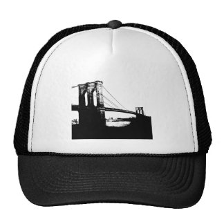 Puente de Brooklyn del vintage Gorro De Camionero