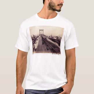 Puente de Brooklyn del vintage New York City Playera