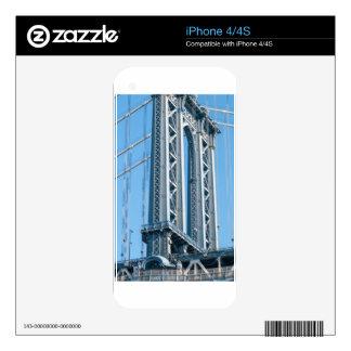 Puente de Brooklyn en New York City iPhone 4S Calcomanía