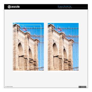 Puente de Brooklyn en New York City Skin Para Kindle Fire