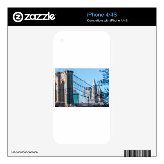 Puente de Brooklyn en New York City Skins Para eliPhone 4