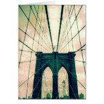 puente de Brooklyn Felicitacion