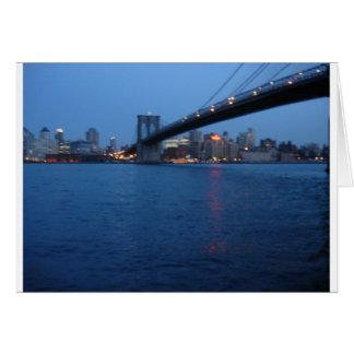Puente de Brooklyn Felicitación