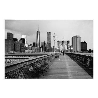 Puente de Brooklyn Fotografía