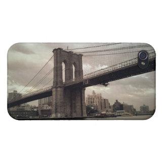 Puente de Brooklyn iPhone 4 Protector
