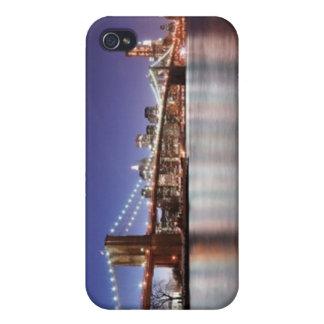 Puente de Brooklyn iPhone 4 Cárcasas