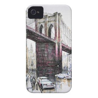 Puente de Brooklyn, identificación de la casamata iPhone 4 Funda