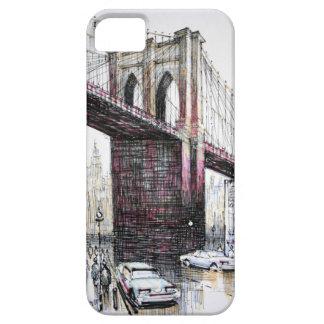 Puente de Brooklyn, identificación de la casamata iPhone 5 Funda