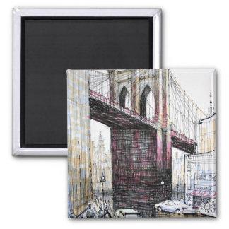 Puente de Brooklyn, imán de los E.E.U.U.