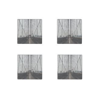 puente de Brooklyn Imán De Piedra