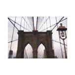 Puente de Brooklyn Impresiones En Lona