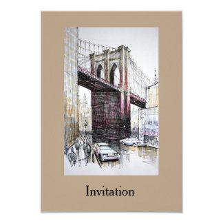Puente de Brooklyn, invitación de los E.E.U.U.