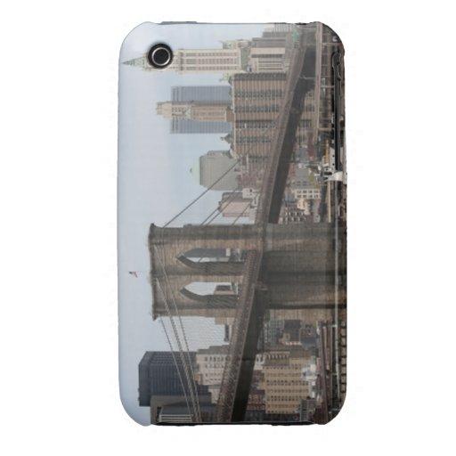 Puente de Brooklyn iPhone 3 Case-Mate Cárcasas