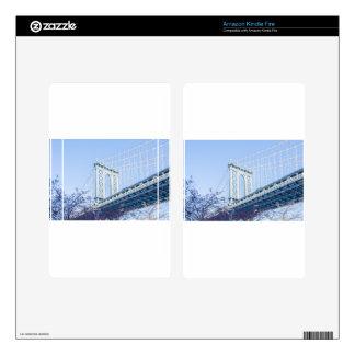 Puente de Brooklyn Kindle Fire Pegatinas Skins