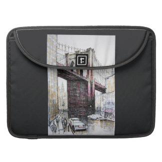 Puente de Brooklyn, los E.E.U.U. Macbook favorable Fundas Macbook Pro