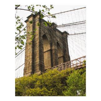 Puente de Brooklyn Membrete A Diseño