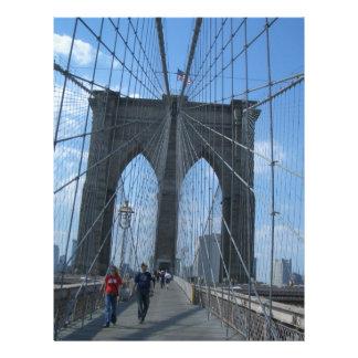 puente de Brooklyn Plantilla De Membrete