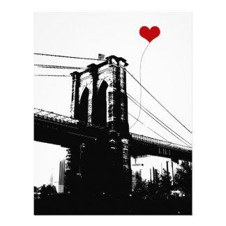 Puente de Brooklyn Membrete Personalizado