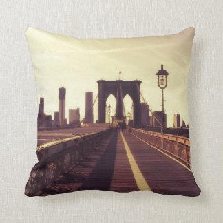 Puente de Brooklyn - New York City Cojin