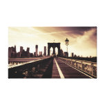 Puente de Brooklyn - New York City Impresiones En Lienzo Estiradas