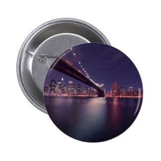 Puente de Brooklyn, New York City Pins