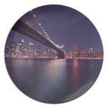 Puente de Brooklyn, New York City Platos De Comidas